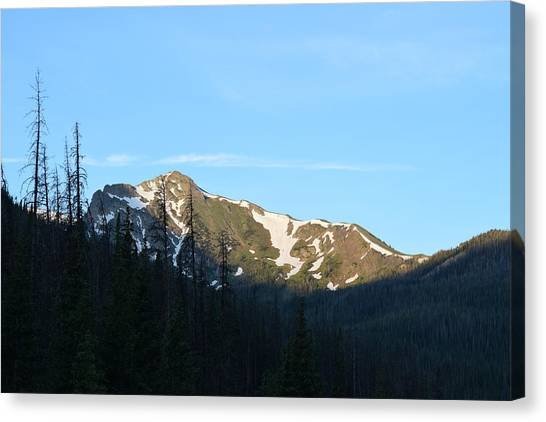 Mountain In Rocky Mountian Np Co Canvas Print