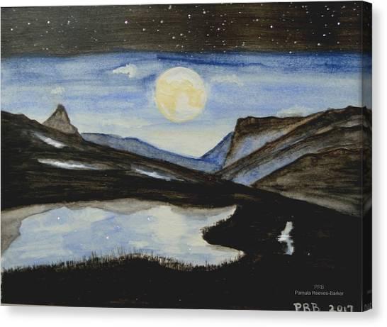 Canvas Print - Mountain Lake by Pamula Reeves-Barker