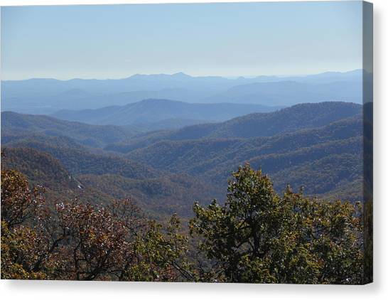Mountain Landscape 4 Canvas Print