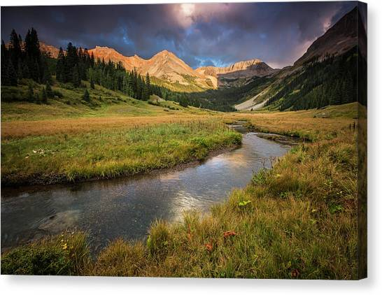 Mountain Light Canvas Print