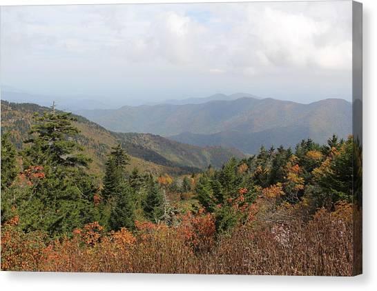 Mountain Long View Canvas Print