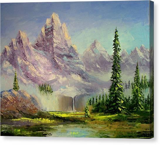 Mountain Majesty Canvas Print by Lynda McDonald