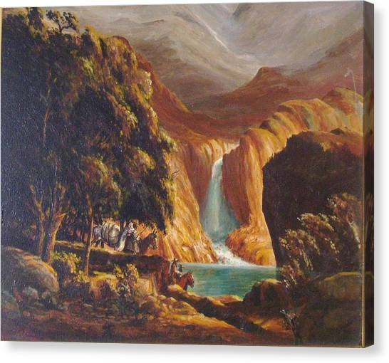 Mountain Men Canvas Print