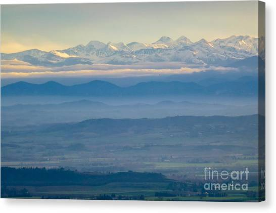 Mountain Scenery 11 Canvas Print