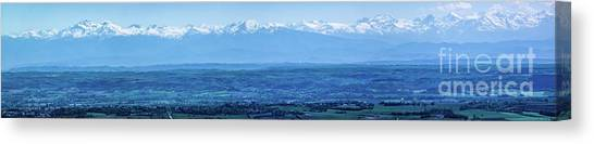 Mountain Scenery 16 Canvas Print