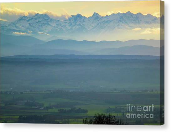 Mountain Scenery 18 Canvas Print