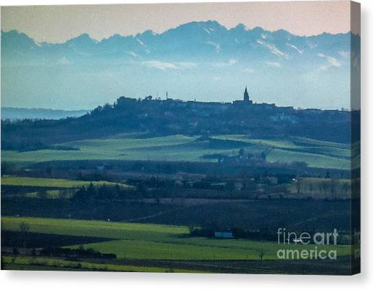Mountain Scenery 4 Canvas Print