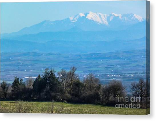 Mountain Scenery 6 Canvas Print