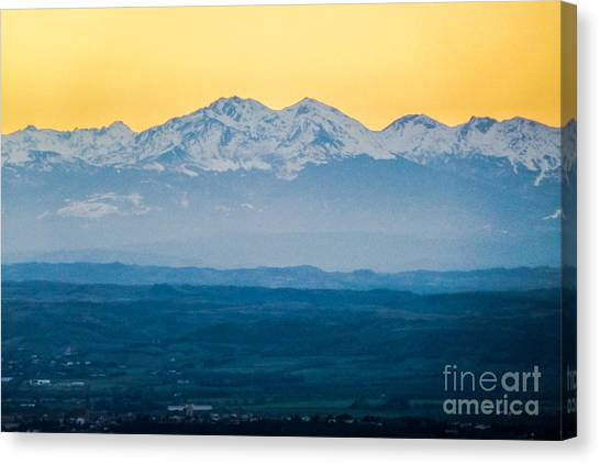 Mountain Scenery 7 Canvas Print