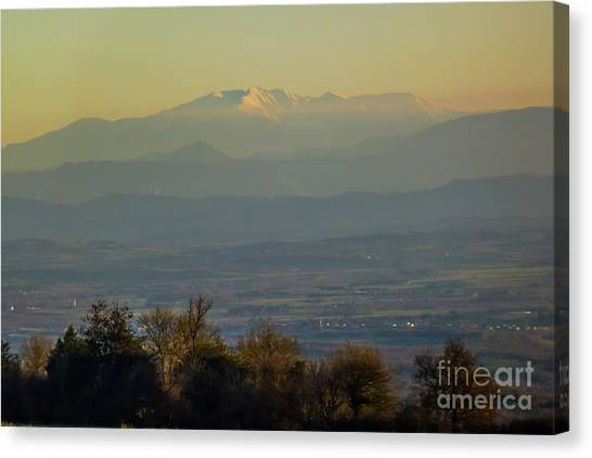 Mountain Scenery 8 Canvas Print