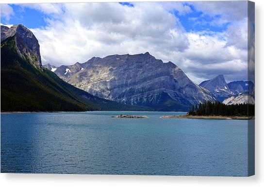 Upper Kananaskis Lake Canvas Print