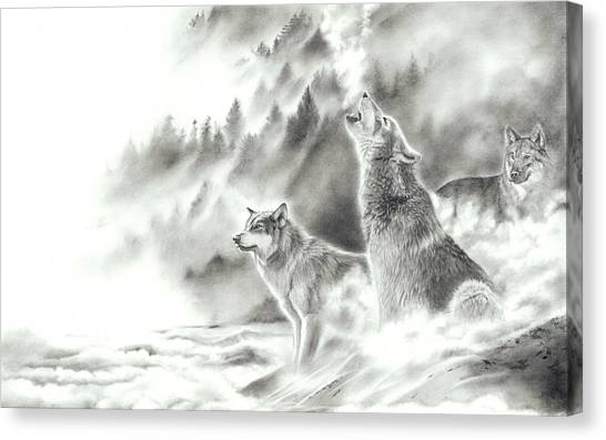 Mountain Spirits Canvas Print