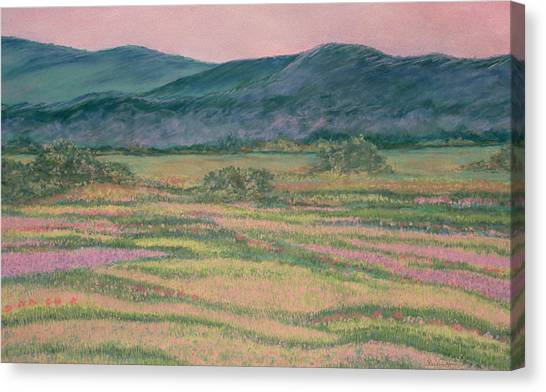 Mountain Springtime Canvas Print