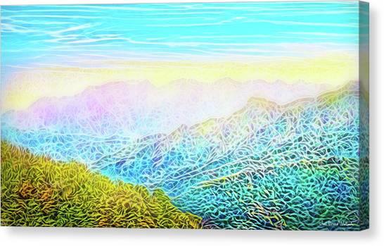 Mountain Sunrise Perceptions Canvas Print