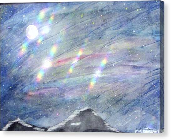 Canvas Print - Mountain Top Mix by Pamula Reeves-Barker