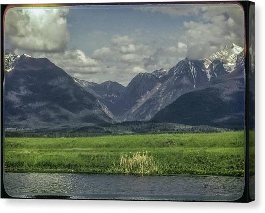 Mountain View Montana.... Canvas Print