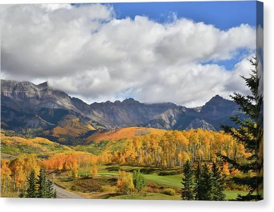 Mountain Village Telluride Canvas Print