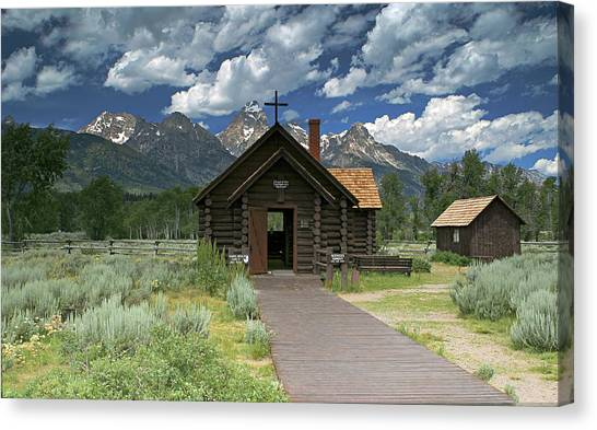 Mountain Worship Canvas Print