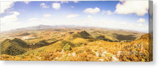 Wide Canvas Print - Mountains And Open Spaces by Jorgo Photography - Wall Art Gallery