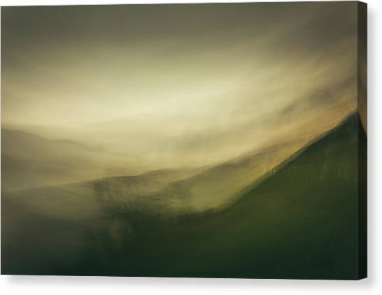 Nottinghamshire Canvas Print - Mountains From Molehills IIi by Chris Dale