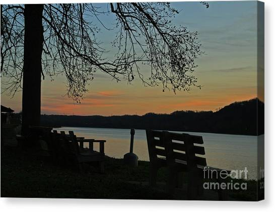 Mourning Silence Canvas Print