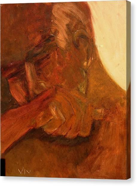 Mourning - Apres Paris Canvas Print