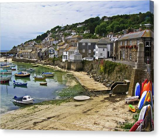 Mousehole Harbour, Cornwall Canvas Print
