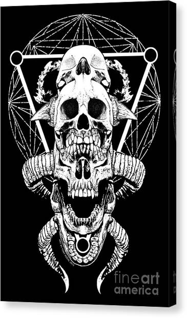 Mouth Of Doom Canvas Print
