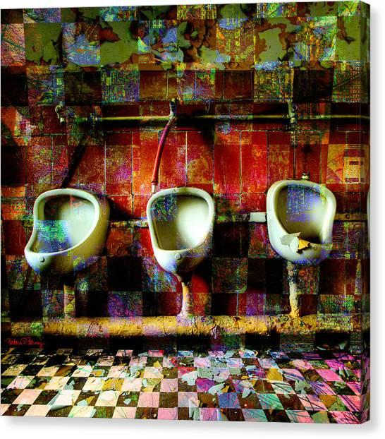 Move Over Marcel Canvas Print