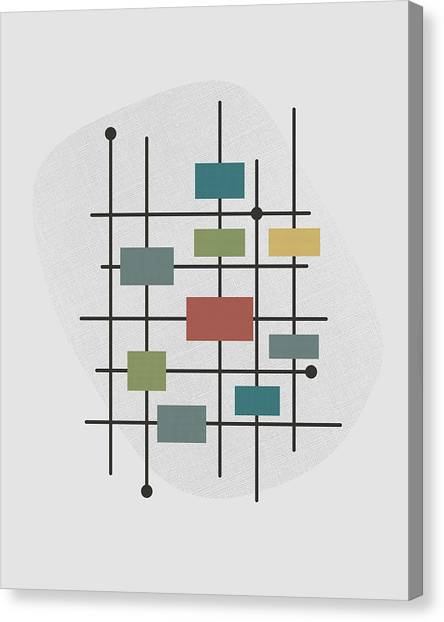 Movement - 1 Canvas Print by Finlay McNevin