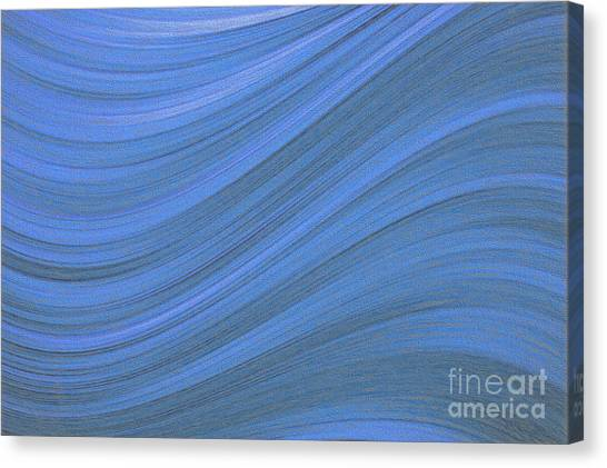 Movement In Waves Canvas Print