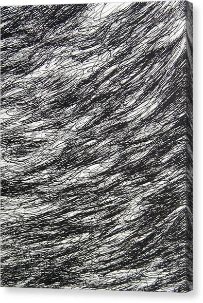 Movement Canvas Print by Uwe Schein
