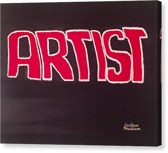 Movie Artist09's Movie Canvas Print