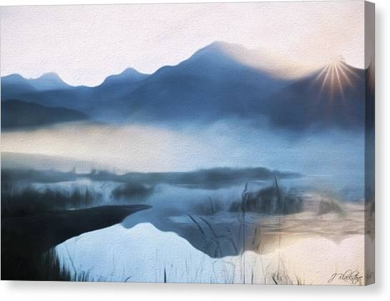 Moving Forward - Inspirational Art Canvas Print
