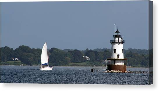 Moving Towards The Light Canvas Print by Jeff Porter