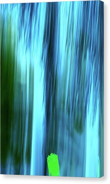 Moving Trees 37-15portrait Format Canvas Print