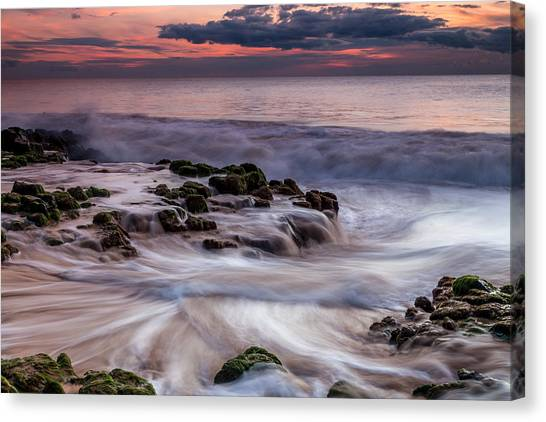 Moving Waters Canvas Print
