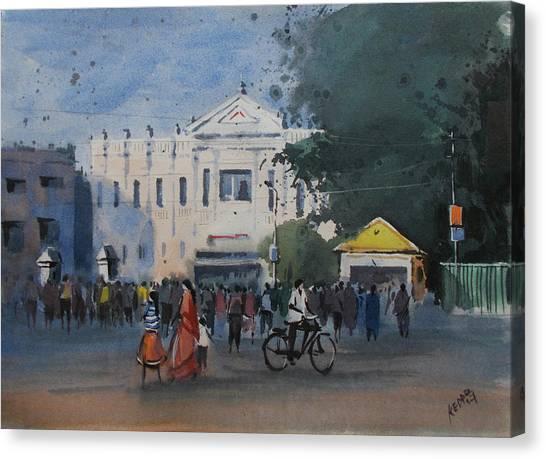 Junior College Canvas Print - M.p.c Junior College, Baripada by Kedar Naik