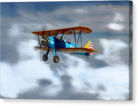 Mprints - Into The Wild Blue Yonder Canvas Print