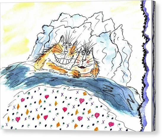 Mprints - Love Bugs Canvas Print