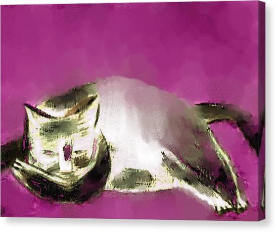 Mprints - The Color Purple Canvas Print