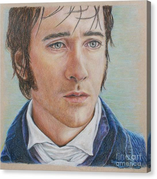 Mr. Darcy Canvas Print