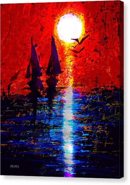 Dripx 70 Canvas Print