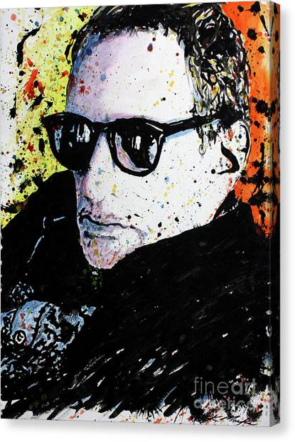 Mr Fagen Canvas Print