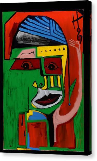 Mr. Green 36x24 Canvas Print
