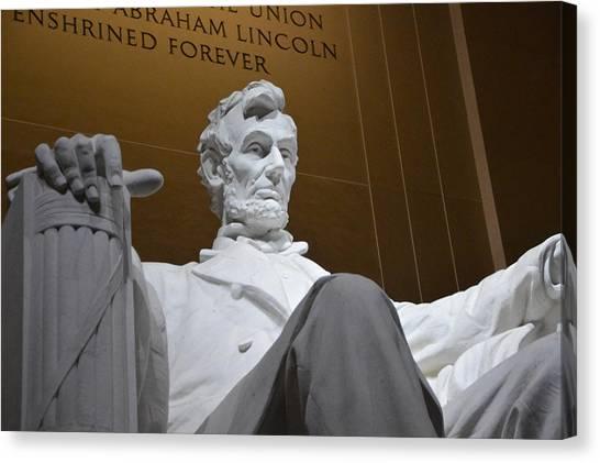 Mr. Lincoln Canvas Print