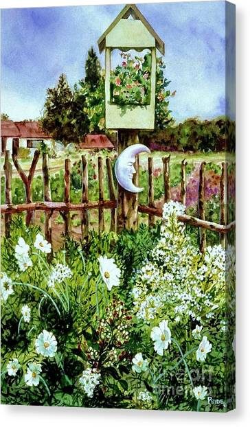Mr Moon's Garden Canvas Print