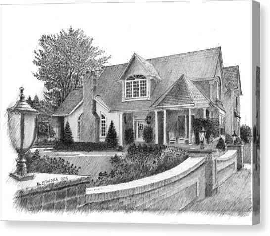 Mr.  Mrs. C's House Canvas Print