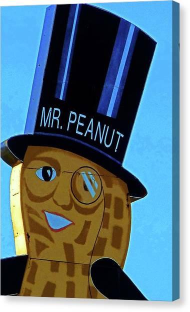 Mr Peanut 2 Canvas Print