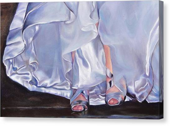 Mrs Beetose Canvas Print by Denise H Cooperman